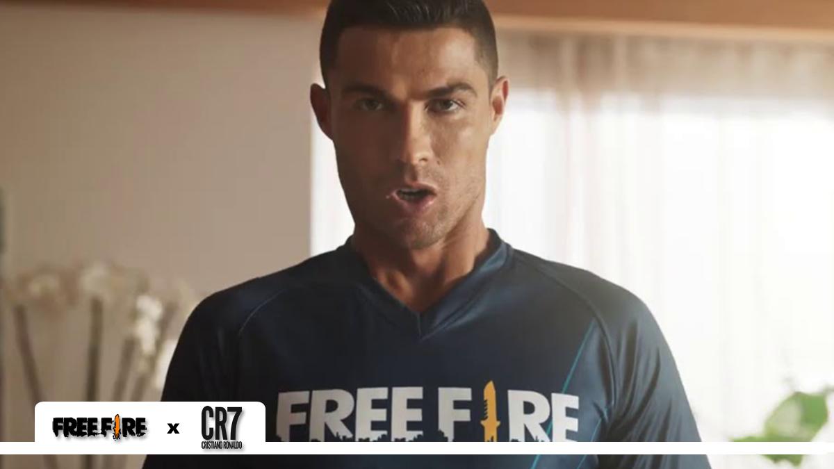 Cristiano Ronaldo x Free Fire