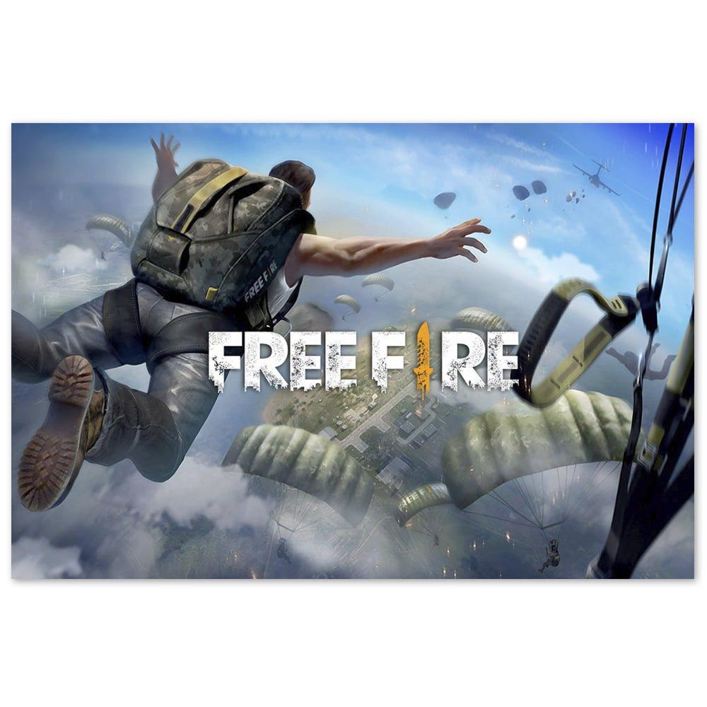 Capa do jogo do Free Fire.