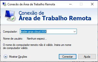 Conexão a Area de Trabalho Remota do Windows / RDP